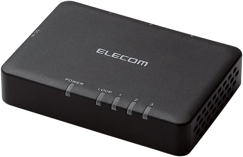 ELECOM 3ポート EHC-G03PA-SB