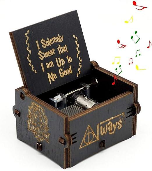 Leegoal Harry Potter Caja de música, manivela de Mano, Caja ...