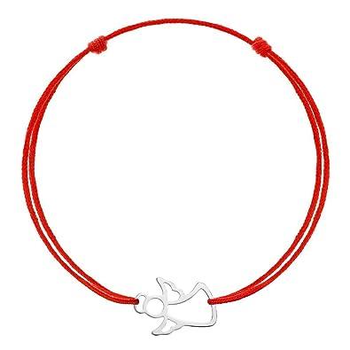 Crystal Kabbale Unisexe Bracelet Bracelet porte-bonheur rouges Ficelle d amitié  Cadeau 62c270be4bc6