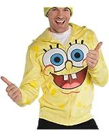 SpongeBob SquarePants Adult Zip-Up Costume Hoodie
