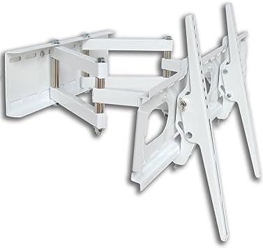 M&G Techno 3415 - Soporte de Pared para televisores de 55 Pulgadas, con Brazo Doble, Distancia a la Pared de 47 cm, con Canal de Cable de 45 cm, Montaje máx. 660 x 400: Amazon.es: Electrónica