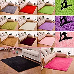 FIRSTLIKE 40x60cm square carpet/wine red/sapphire blue/light purple/red/light khaki/white/silver gray/pink