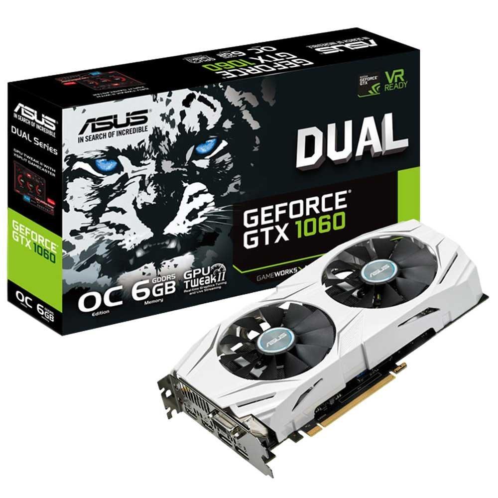 ASUS DUAL GTX OG Tarjeta gráfica Dual NVIDIA GeForce GTX  GB