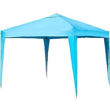 Merax Patio Easy Pop Up Canopy Tent 10 X 10 FT Portable Folding Canopy (