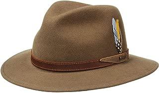 product image for Stetson Hampton VitaFelt Traveller Hat Men - Made in USA
