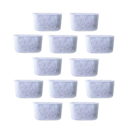 LOL lo - Filtros de Agua de carbón de Repuesto para cafeteras (12 ...