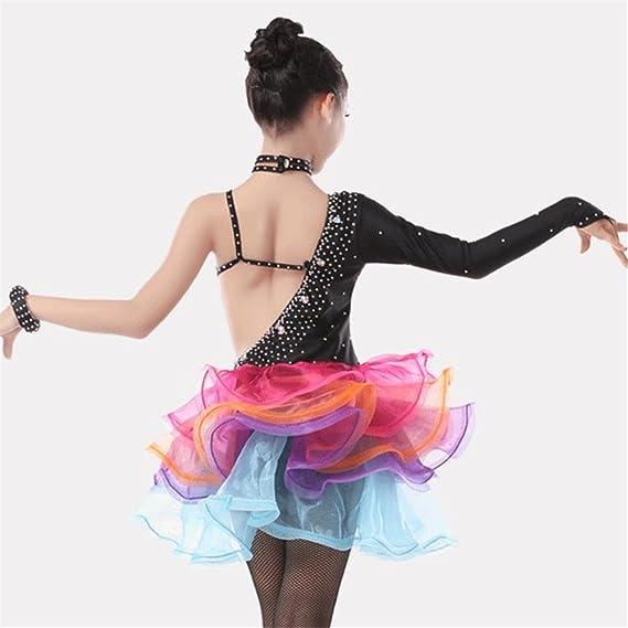 509310166 JJM Children'S Latin Performance Clothing Wholesale Girls Lace Latin Skirts  Latin Game Suits Adult Dance Dress Skirt: Amazon.co.uk: Sports & Outdoors