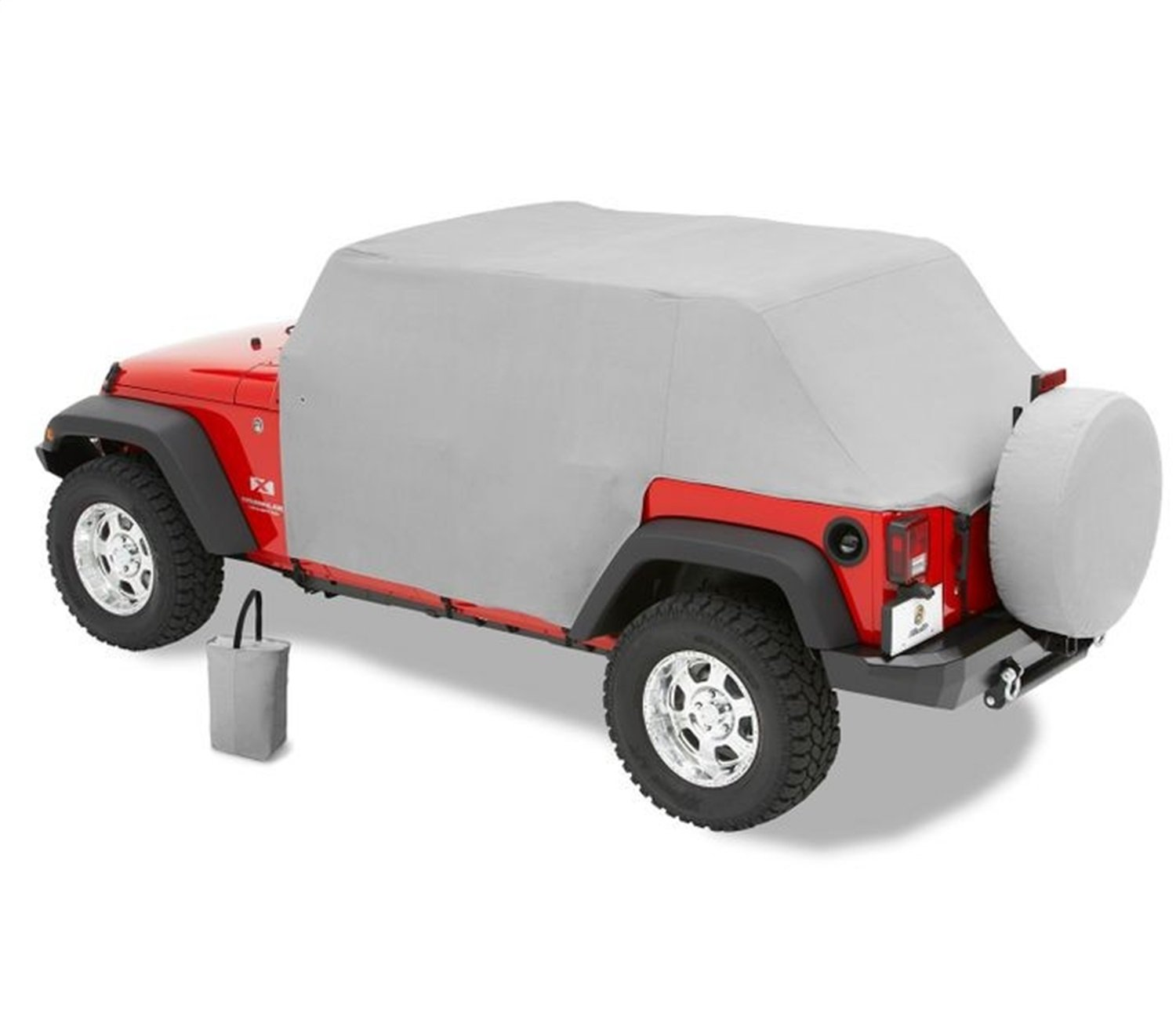 Bestop 81041-09 Charcoal All Weather Trail Cover for 2007-2018 Wrangler JK Unlimited