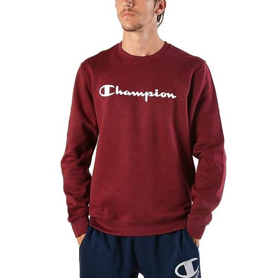 Champion MaroonAmazon Men Comfortfit Sweater ukClothing co rxBeEQdWCo
