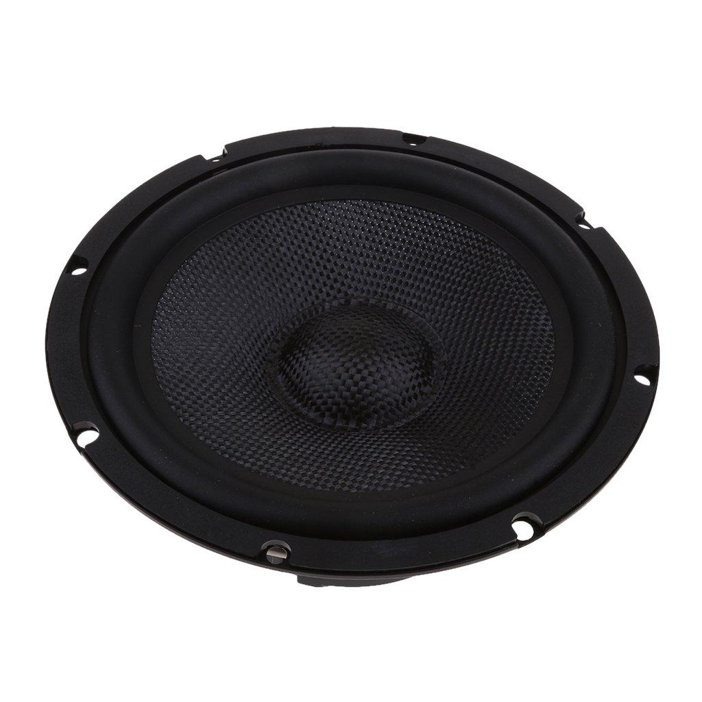 MagiDeal 6.5'' Subwoofer Hifi Speaker Mid-bass 4Ohm Stereo Audio Loudspeaker DIY