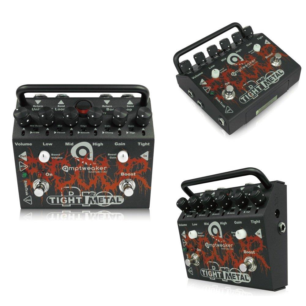 Amptweaker (アンプトゥイーカー) SCOUR TightMetal Pro : 18Vアダプター付属 / エフェクトループ搭載 ハイゲイン メタル ディストーション ギター エフェクター   B078MH5LQM