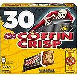 NESTLÉ COFFIN CRISP Mini Halloween Bars 360 g (Pack of 30 COFFEE CRISP Mini Bars)
