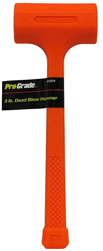 Pro-Grade 61374 3-Pound Dead Blow Hammer