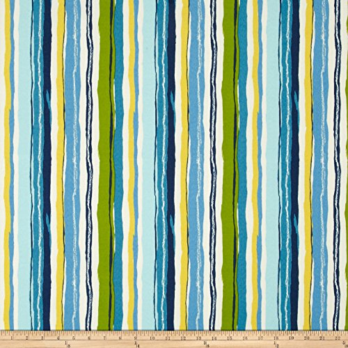 Swavelle/Mill Creek Indoor/Outdoor Sigmund Caribbean Fabric By The Yard