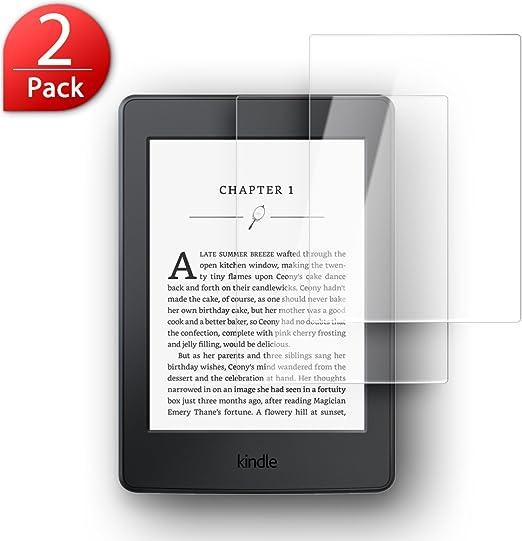 2 Unidades ] Protector de Pantalla Kindle Paperwhite 3, SLEO ...