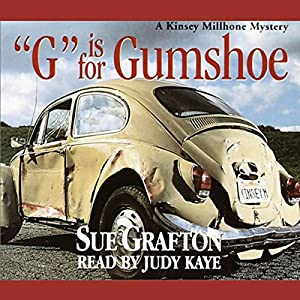 G is for Gumshoe Audiobook