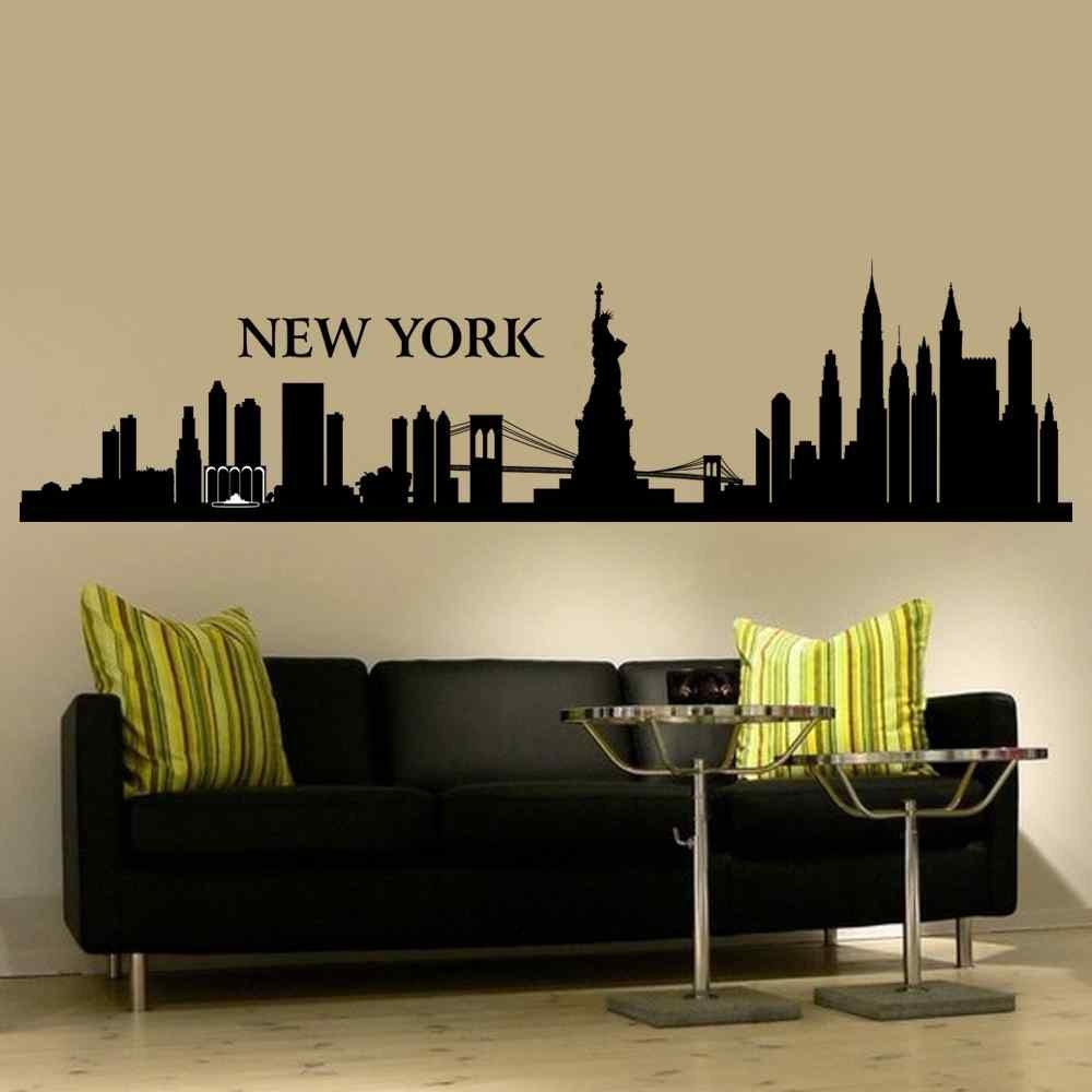 Amazon Battoo New York Wall Decal City Nyc Landmark Liberty
