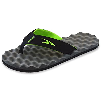 85b591b5fcff3 Image Unavailable. Image not available for. Color  PR SOLES Recovery Flip  Flops