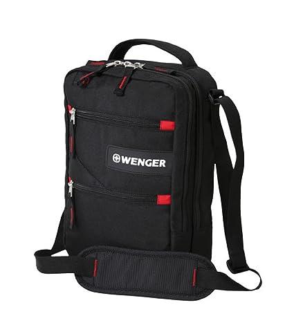 Wenger Sac Bagage à Main, 20 cm, 3 L, Noir
