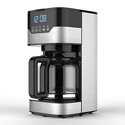 Y&J Cafetera Programable Máquina De Filtro De Café con ...