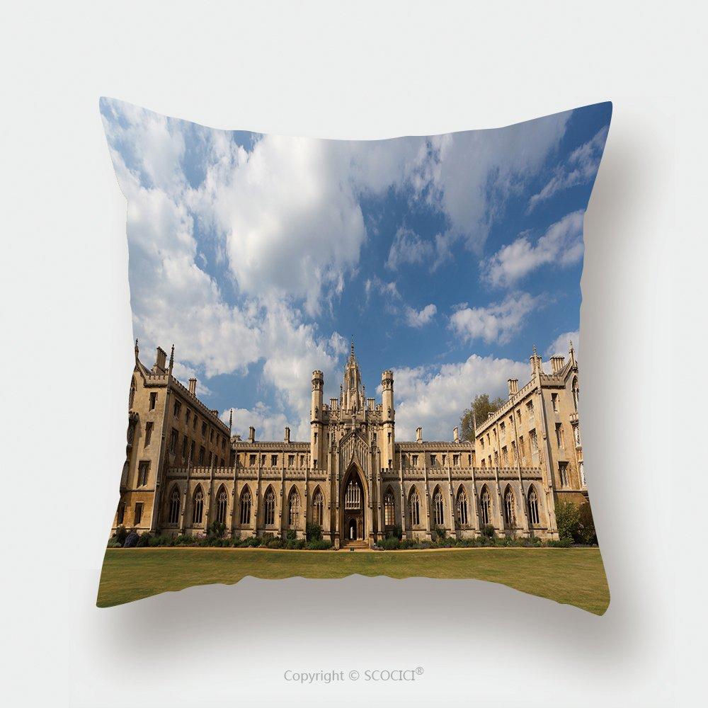 Custom Satin Pillowcase Protector The New Court St John S College At Cambridge University Cambridge Uk 60361204 Pillow Case Covers Decorative