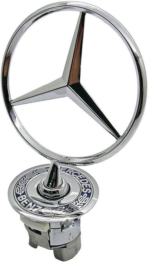 W210 W203 Yeool Emblema de estrella para cap/ó con logo de estrella para W202 W211 W220
