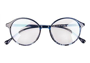 YSXY Klassiche Nerdbrille Sonnenbrille Dekogläser 60er Jahre Retro Vintage Unisex Brille Anti-Strahlung rYwQO