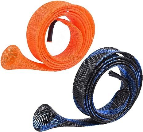 SUNNYGO 2 Packs Fishing Rod Sock Sleeve Pole Cover Extanable