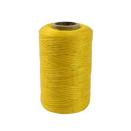 Creatieve hobby's Kralen en sieraden 1 Roll Natural Sinew Waxed Beading Craft Poly Thread Spool Artificial Wax Sinue