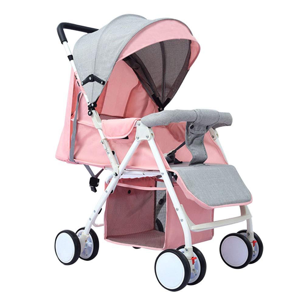 乳児用トロリー ベビーカート軽量ポータブル折りたたみ可能なアルミニウム合金ベビーベビーカー   B07Q9PW89Q