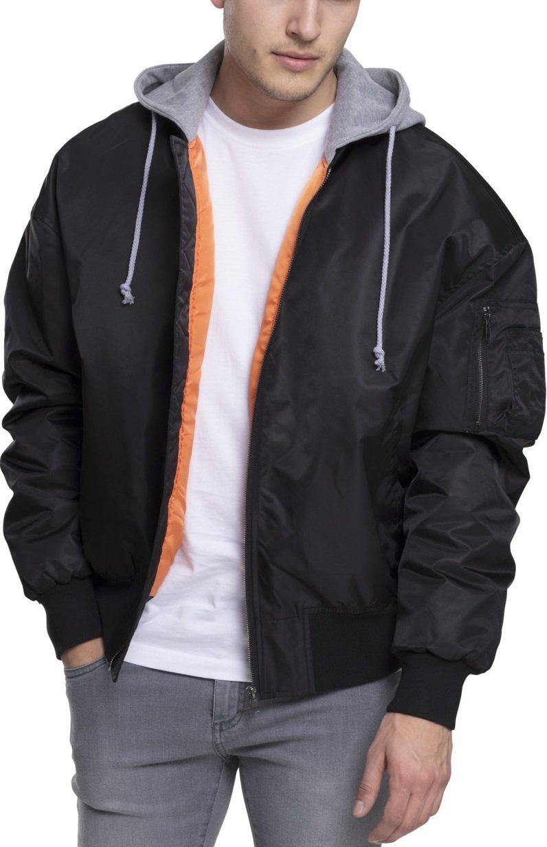 aa99c47ffbb Amazon.com: Urban Classics Hooded Oversized Bomber Jacket Streetwear Giacca  Uomo: Sports & Outdoors