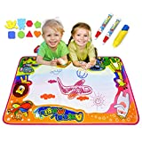 "Ubetoone Aqua Magic Mat Kids Toys Water Doodle Drawing Pad Large for Boys Girls Toddlers Gift Size 34.6"" X 22.8"""