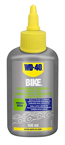 WD-40 BIKE- Lubricante de Cadenas de Bicicleta para Ambiente Seco - Gotero 100ml: Amazon.es: Industria, empresas y ciencia