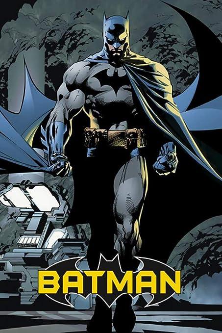 Amazon Com Batman Comic Poster Print The Dark Knight Walking At Night Size 24 X 36 By Poster Stop Online Unframed Prints Wall Art
