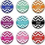Chevron Name Magnet - Personalized Fridge Magnet