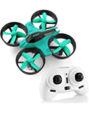 F36 Mini Drone for Children, HELIFAR Remote Control Drone 2.4G 4CH 6 Axis Gyro Headless Mode, RC Quadcopter Drone Small RC Drone Toys for Kids Beginners Indoor Outdoor Flight
