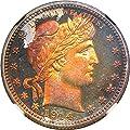 1914 P Barber Quarters (Proof) Quarter PR68 NGC\CAC