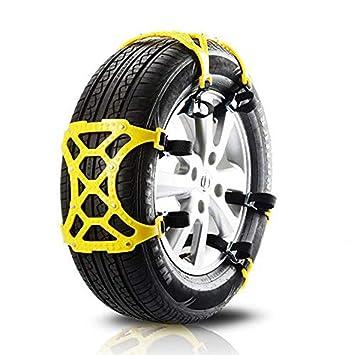 Wankd 1 unids Cadenas de nieve para autos Traje universal para autos Neumático Carretera de seguridad ...