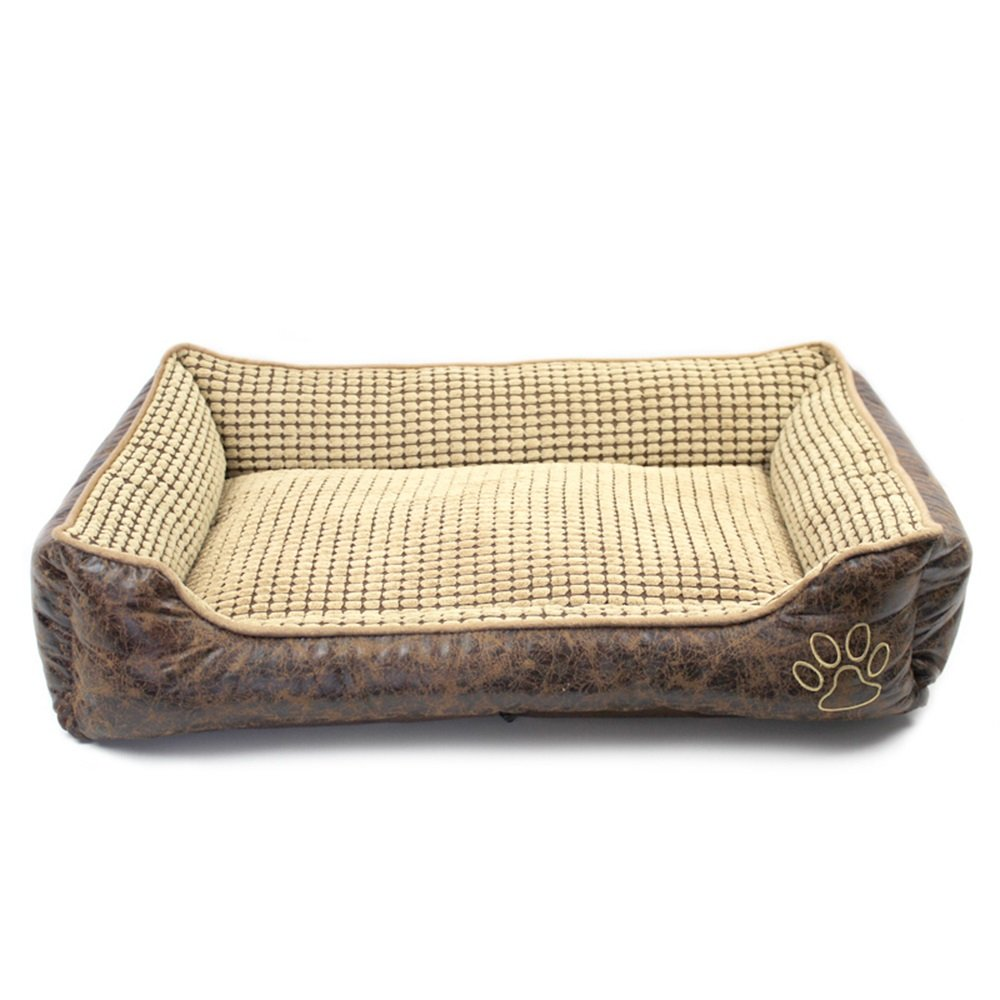 Pet bed Kennel Removable Medium Dog Small Dog pad pet Supplies(90  70  25cm)