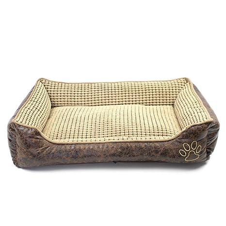 Pet bed Cama para Mascotas/Perrera Extraíble/Perro Mediano Almohadilla para Perro Pequeña/