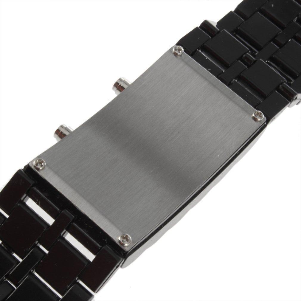 SODIAL(R) Reloj de Pulsera LED Digital para Hombre y Mujer: Amazon.es: Hogar