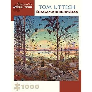 Tom Uttech Enassamishhinjijweian 1000 Piece Jigsaw Puzzle