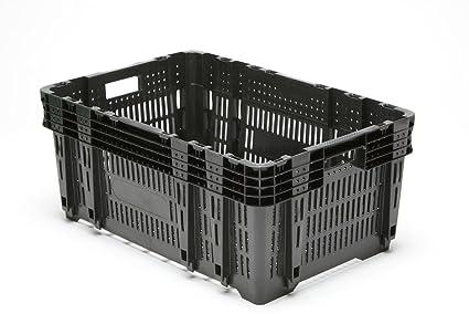 Plástico Caja fev250 Caja de verduras fruta (apilables Caja multiusos caja respetuoso con el medio