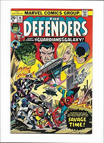 Defenders  26  1975 Vg Fn  Guardians Of The Galaxy App