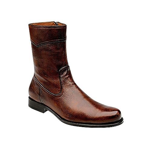 Botines de Caballero en Piel de Venado Franco Cuadra: Amazon.es: Zapatos y complementos