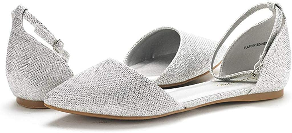 DREAM PAIRS Flapointed-New Ballerines Femme
