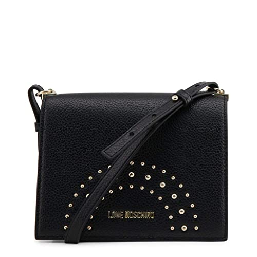 Moschino BORSA DONNA LOVE TRACOLLA PEBBLE ECOPELLE COL. NERO B19MO01  Amazon .it  Scarpe e borse a3df2bea5cf