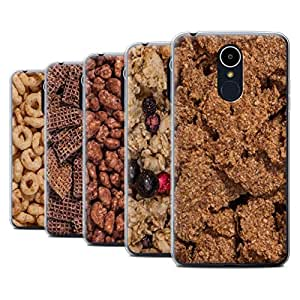 STUFF4 Gel TPU Phone Case / Cover for LG K8 2017/M200 / Pack 18pcs / Breakfast Cereal Collection