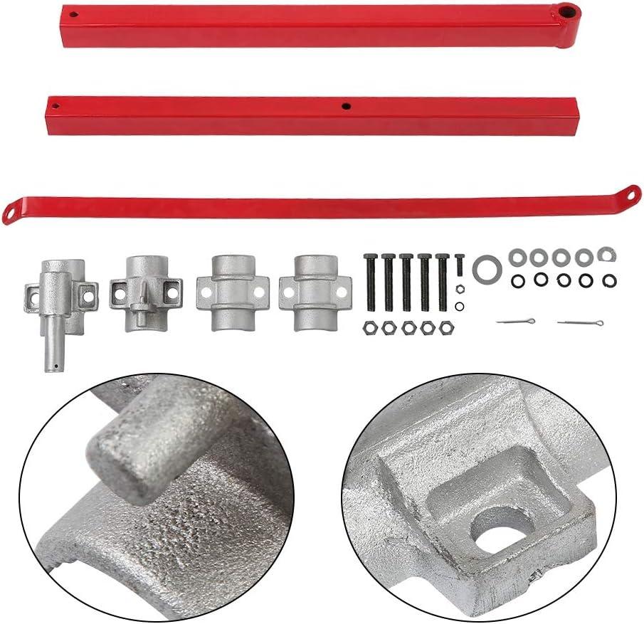 vidaXL Hoist Frame 1000 kg Support Arm Scaffolding Pole For Electric Hoist
