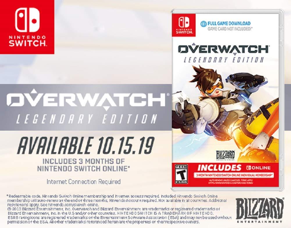 Overwatch Legendary Edition for Nintendo Switch [USA]: Amazon.es ...